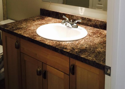 Bathroom Counter & Sink