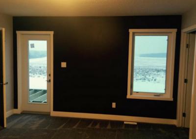 Master Bedroom Cold Lake Home Build