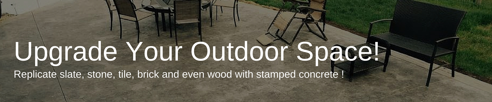 Upgrade Your Outdoor Space in Cold Lake with Stamped Concrete