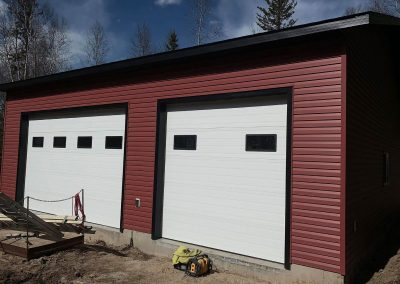 Garage Construction in Cold Lake 2019